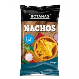 Nachos a la sal Botanas 200 g.