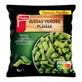 Judías verdes planas Findus 1 kg.