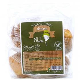 Magdalenas artesanas clásicas Mdalen sin gluten 190 g.