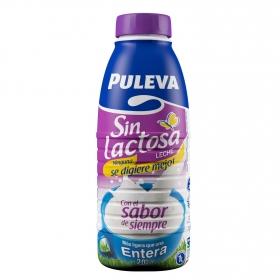 Leche entera Puleva sin lactosa botella 1 l.