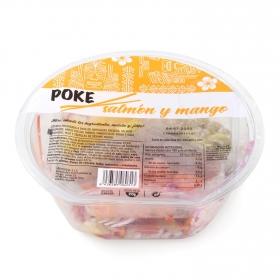 Ensalada Poke de salmón y mango 255 g