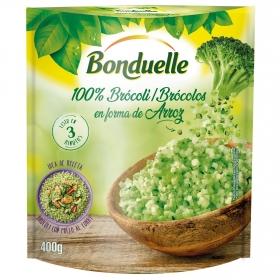 Brócoli 100% en forma de arroz Bonduelle 400 g.
