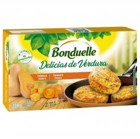 Delicias de verdura con calabaza y zanahoria un toque de nuez moscada Bonduelle 300 g.