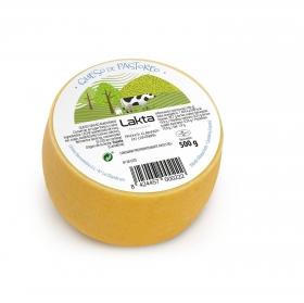 Queso de vaca de pastoreo madurado Lakta pieza 500 g