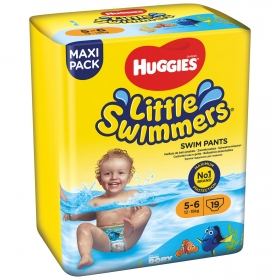 Bañador desechable Huggies® Little Swimmers (12-18 kg) 19 uds