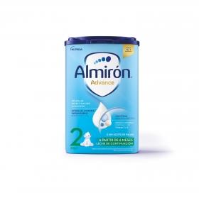 Leche infantil de continuación desde 6 meses en polvo con Pronutra+ Almirón Advance 2 caja 800 g.