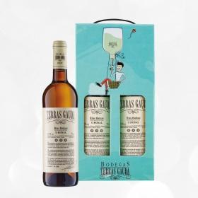 LOTE 97: 2 botellas D.O. Rías Baixas Terras Gauda blanco albariño 75 cl.