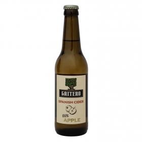 Sidra El Gaitero achampanada botella 33 cl.