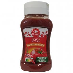 Kétchup picante Carrefour envase 340 g.