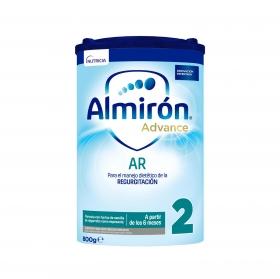 Leche infantil de continuación desde 6 meses en polvo Almirón AR 2 caja 800 g.
