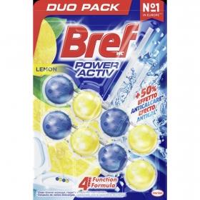 Colgador WC Poder Activo aroma limón Bref 2 ud.