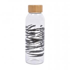 Botella de Vidrio TABERSEO Kenia 450 ml Boro - Transparente