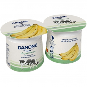 Yogur Platano Danone Pastoreo 2 Unidades 240g