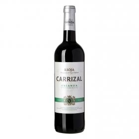 Vino tinto crianza ecológico Carrizal D.O.Ca Rioja 75 cl.