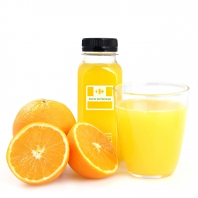 Zumo de naranja recién exprimido Carrefour 250 ml