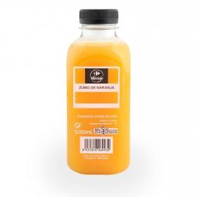 Zumo de naranja recién exprimido Carrefour 500 ml