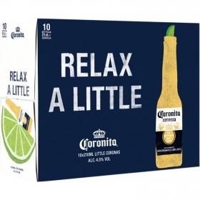 Cerveza Coronita pack de 10 botellas de 21 cl.
