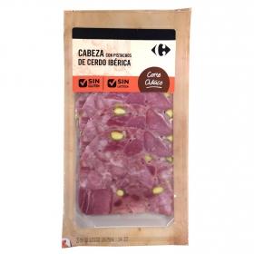 Cabeza de jabalí ibérica con pistachos corte clásico sin gluten y sin lactosa 100 g