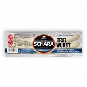Salchichas blanca bratwurst Schara 170 g.