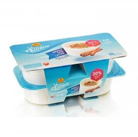 Arroz con leche sin azúcar añadido Reina sin gluten pack de 4 unidades de 125 g.