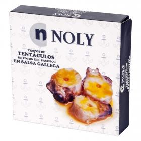Trozos de tentáculos de potón en salsa gallega Noly 72 g.