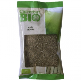 Infusión de anís verde ecológica Carrefour Bio 100 g.
