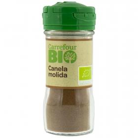 Canela molida ecológica Carrefour Bio 25 g.