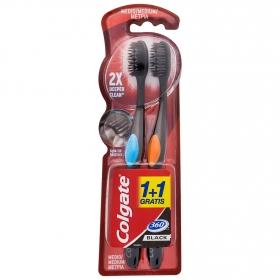 Cepillo dental 360º Colgate 2 ud.