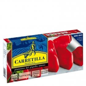 Pimientos del Piquillo enteros extra Carretilla 150 g.