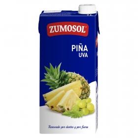 Zumo de piña y uva Zumosol brik 1 l.