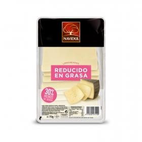Queso tierno reducido en grasa Navidul 75 g.