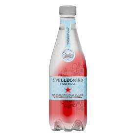 Agua mineral con gas San Pellegrino sabor naranja y frambuesa 50 cl.