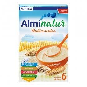 Papilla infantil desde 6 meses sin azúcares añadidos Alminatur 230 g.