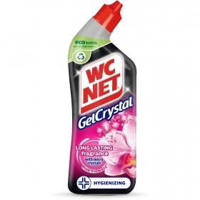 Gel WC crystal pink flowers WC Net 750 ml.