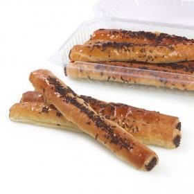 Flautas con crema de cacao Carrefour 8 ud