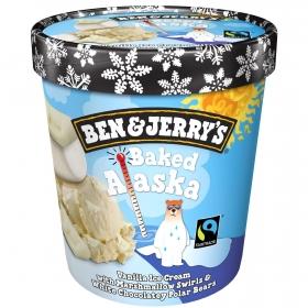 Helado Baked Alaska Ben&Jerry's 465 ml.