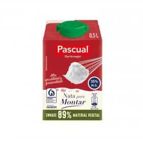 Nata para montar y cocinar Pascual sin gluten 500 ml.