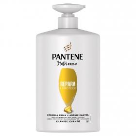 Champú repara y protege para cabellos débil o dañado Pantene 1000 ml.