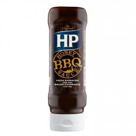 Salsa barbacoa con miel HP envase 465 g.