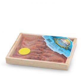 Gamba plancha caja de madera 300 g