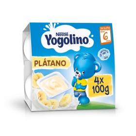 Pack Cuatro Yogolino Plátano 100 gr