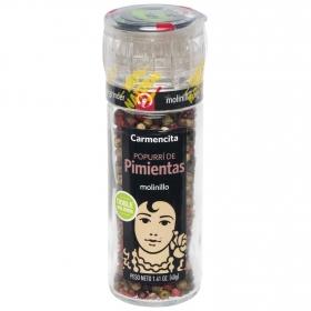 Molinillo Popurrí de pimientas Carmencita 40 g.