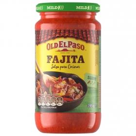 Salsa para cocinar fajitas Old El Paso tarro 475 g.