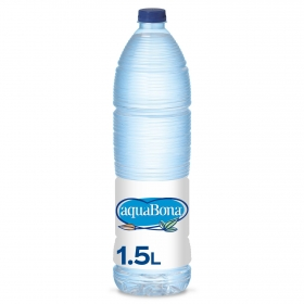 Agua mineral Aquabona natural 1,5 l.