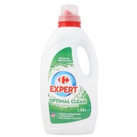 Detergente liquido expert octimal clean Carrefour 36 lavados.