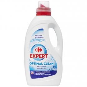 Detergente liquido expert optimal clean frescor alpino Carrefour 36 lavados.