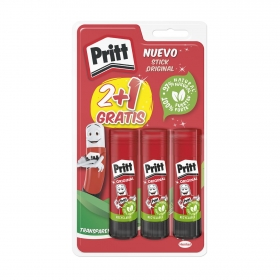 Pegamentos en Barra Priitt Stick 2+1 uds