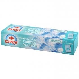 Bolsas para cubitos de hielo Carrefour 10 ud.