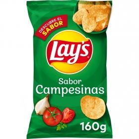 Patatas fritas sabor campesinas Lay's 160 g.
