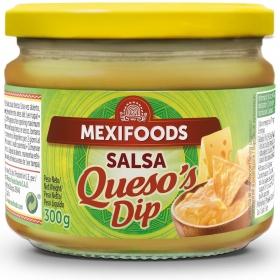 Salsa de queso Mexifoods tarro 300 g.